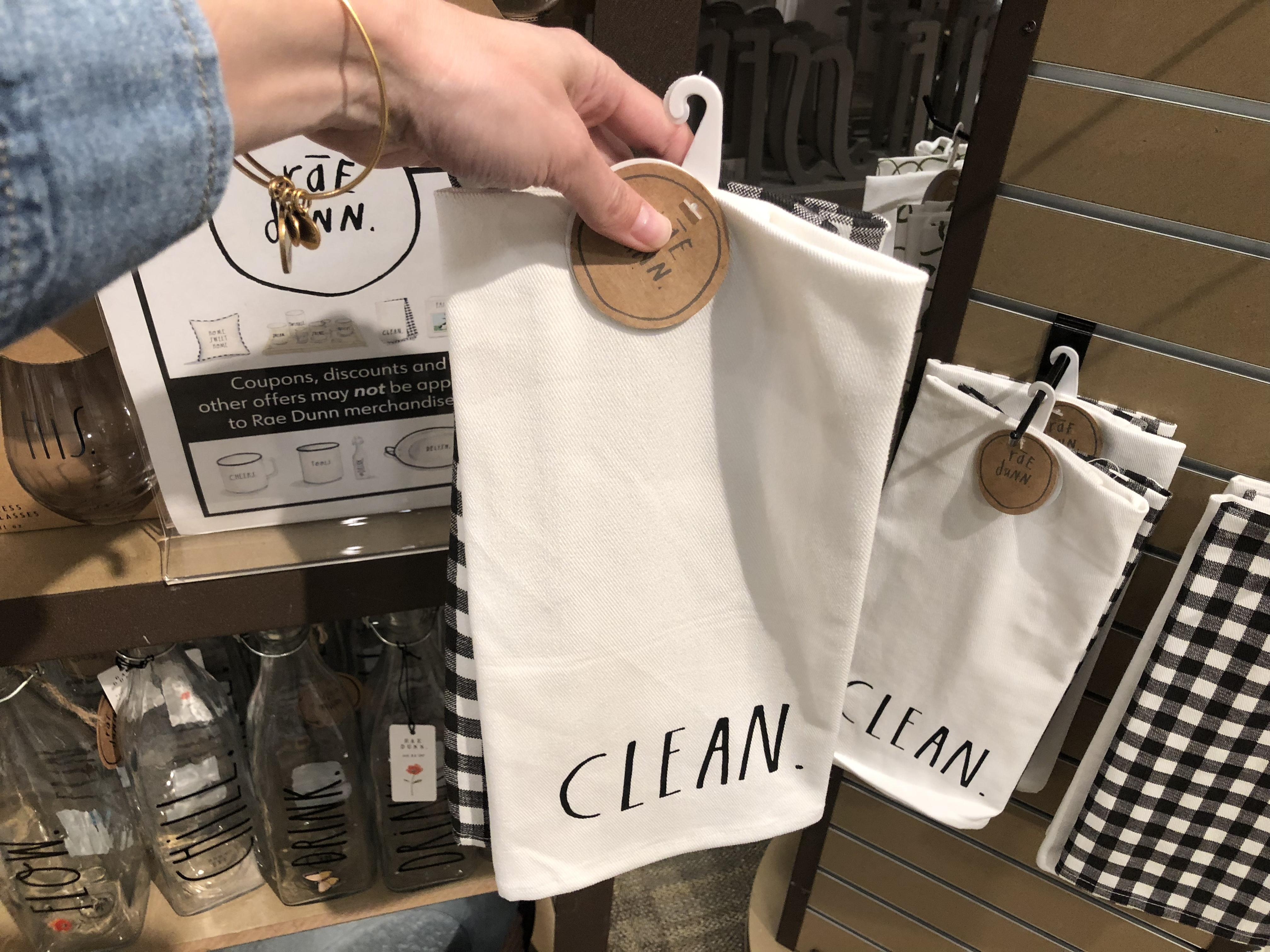 Rae Dunn collection at Kirklands - Rae Dunn Tea Towels