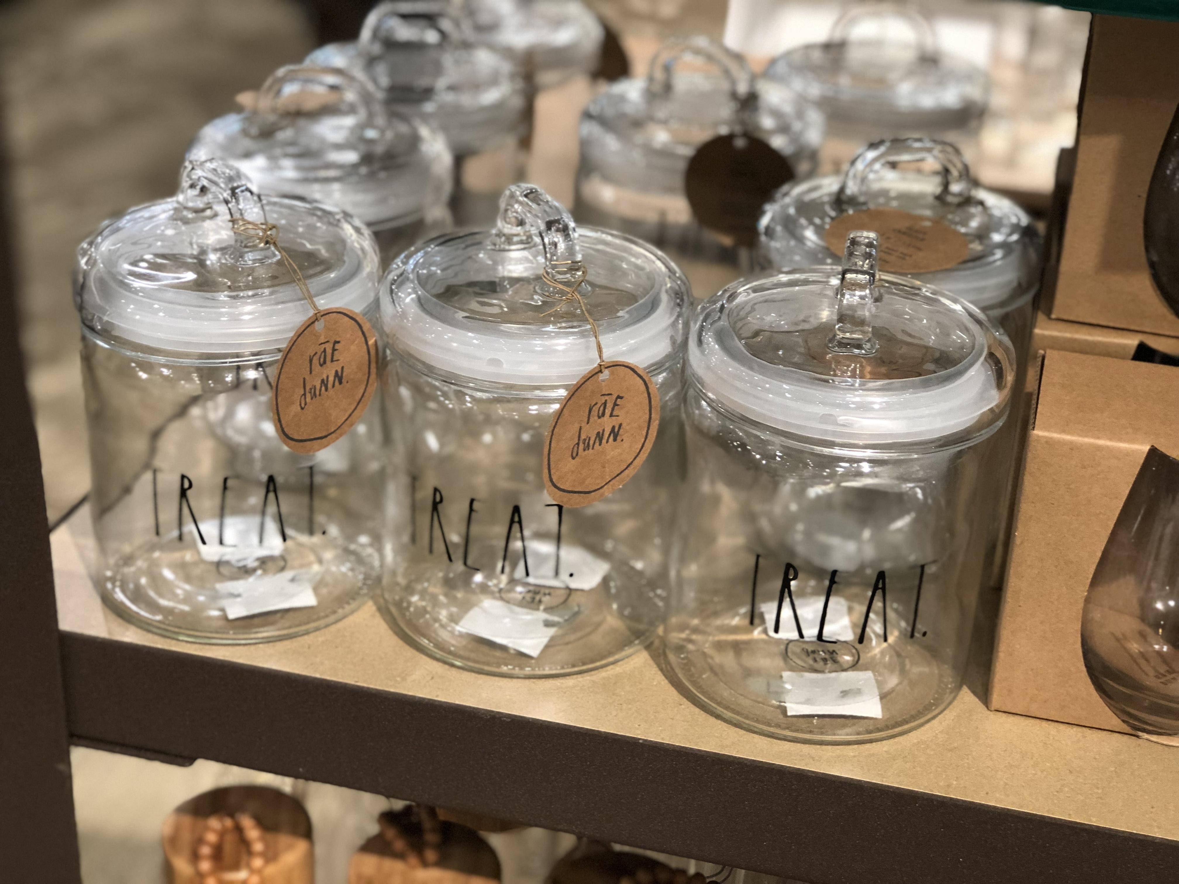 Rae Dunn collection at Kirklands - Rae Dunn treat canister
