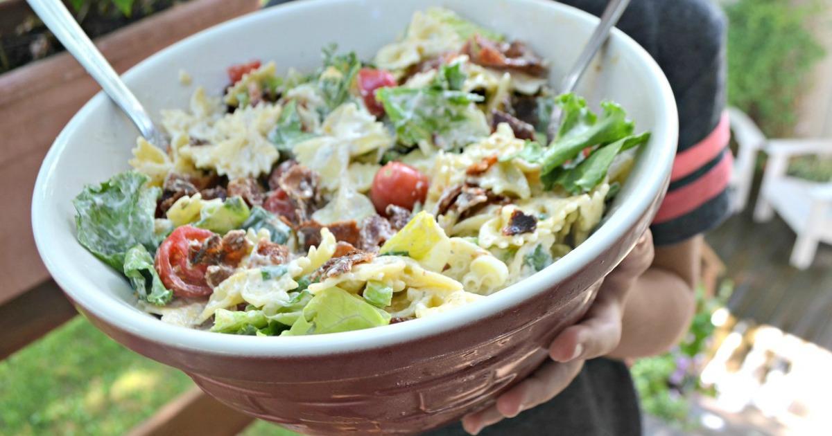 BLT Ranch Salad