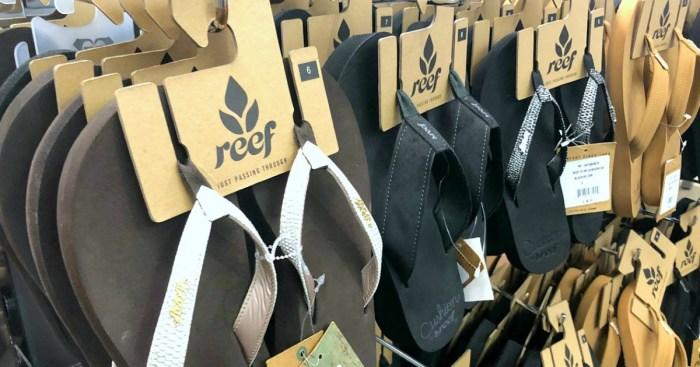 Up to 60% Off Reef Men's & Women's Flip Flops