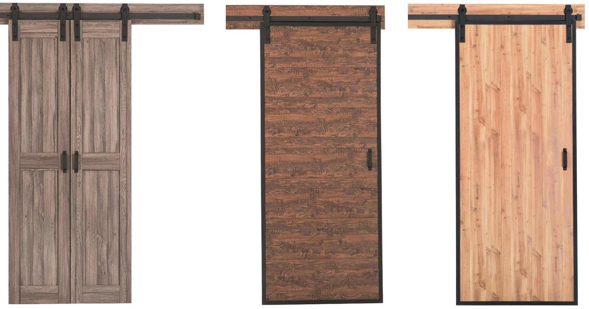 Lowe S Barn Door Kits W Hardware Just 199 Regularly 379 Includes Door Track Handle Hip2save