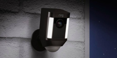 Ring Spotlight Security Camera 2-Pack from $179.99 Shipped on HSN.com (Regularly $399)