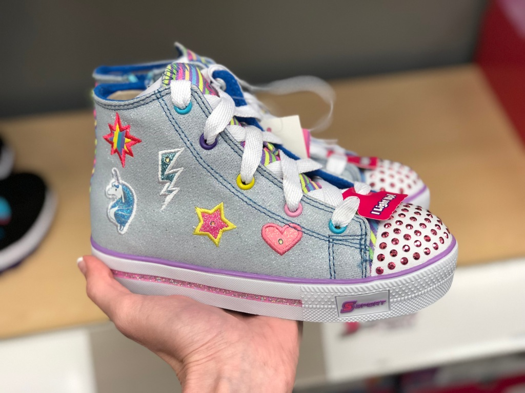 7fb0a6613c71 S Sport by Skechers Toddler Girls Glimmer Stars High Top Light-up Sneakers   29.99. Use code SHOES30 (30% off) Or use the 30% off Kids    Toddler Shoes  ...