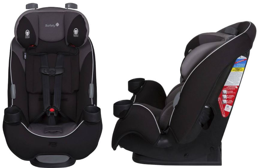 This Car Seat Converts From A Newborn Rear Facing All The Way To Toddler Booster Up 100 Lbs It Features Side Impact Protection With QuickFit