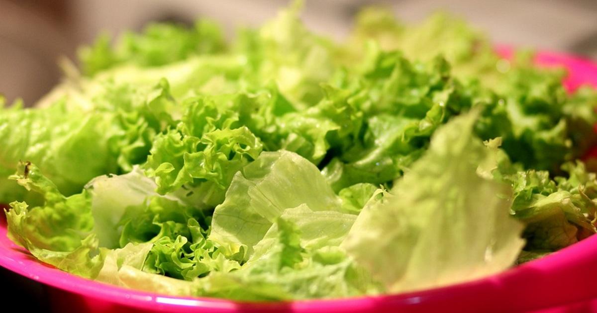 bowl full of lettuce