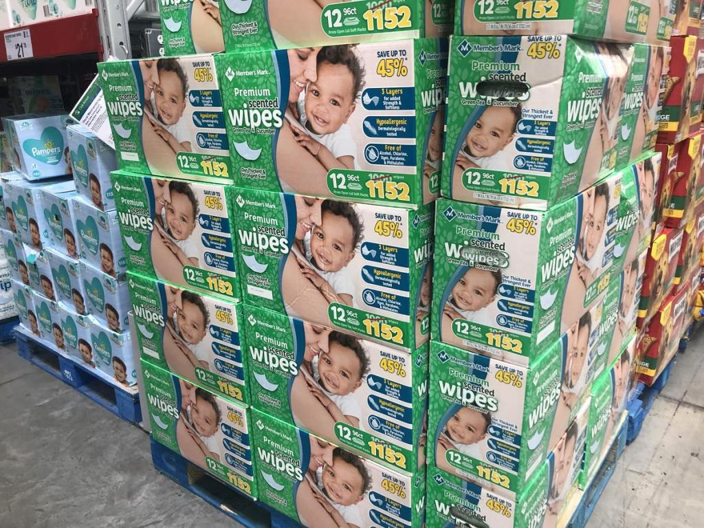 Sam's Club baby wipes