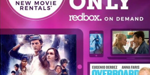 Redbox On Demand Movie Only 99¢