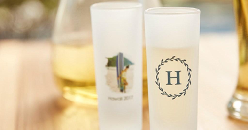 shutterfly shot glass