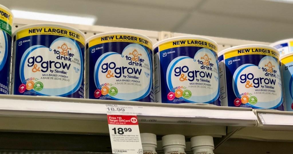 similac go grow toddler formula powder 24oz in target store