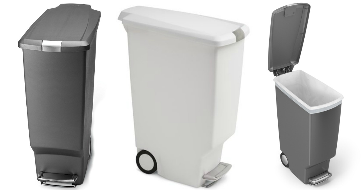 Simplehuman Slim Kitchen Trash Can Only $31.99 Shipped ...