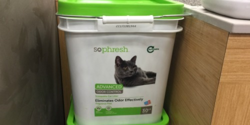 FREE So Phresh Advanced Odor Control Cat Litter 30lb Bucket at Petco ($11 Value)