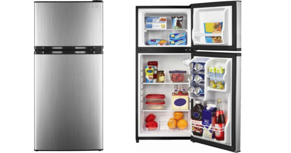 Insignia 4 3 Cu Ft Stainless Steel Top Freezer Refrigerator Only 159 99 Shipped Regularly 270 Hip2save