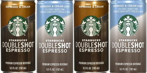 Amazon: Starbucks Doubleshot Espresso 12-Pack Only $10.12 Shipped (Just 85¢ Per Can)