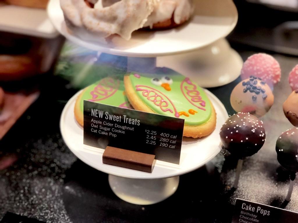Starbucks fall bakery treats