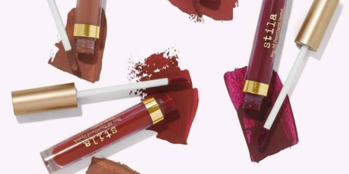 Buy One & Get One Free Stila Liquid Lipstick + Free Sample + Free Gift Offer