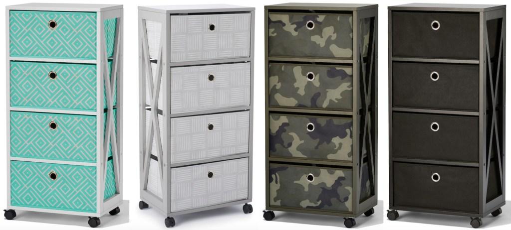 storage carts at Kohl's