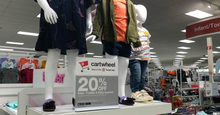 20% Off Kids, Toddler, & Baby Apparel at Target (In-Store & Online)