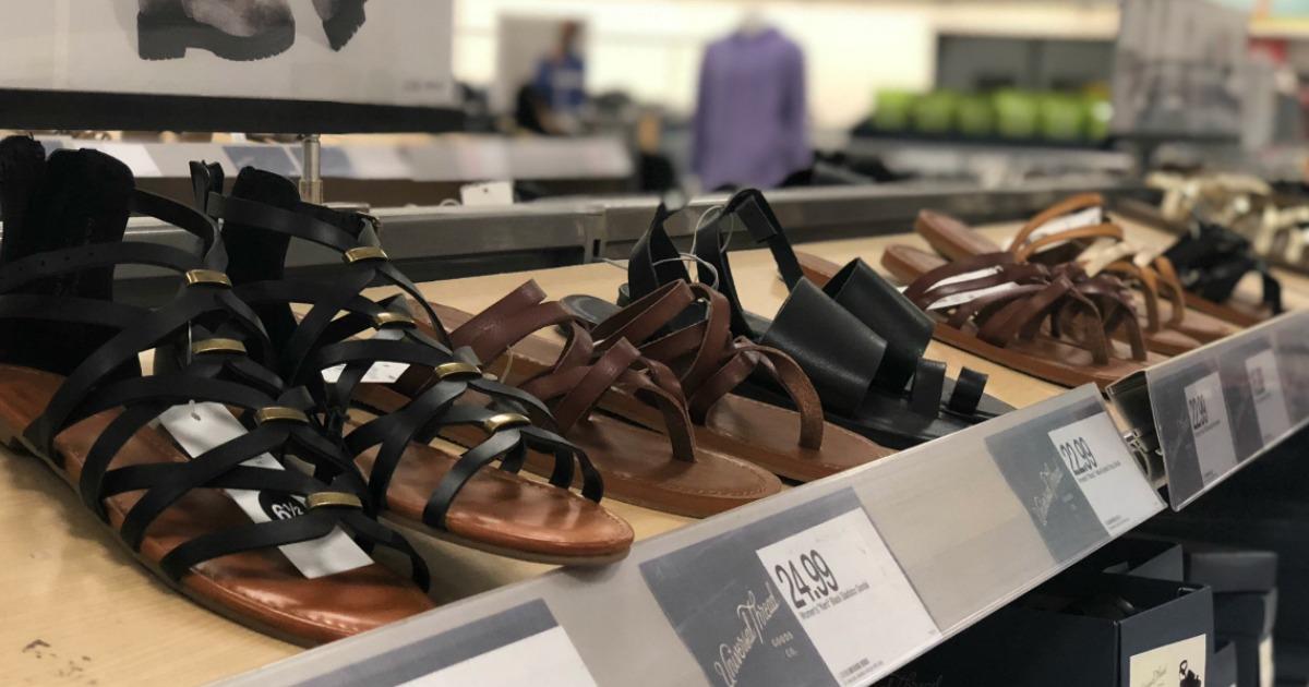 30 Off Women S Sandals Amp Flip Flops At Target Including