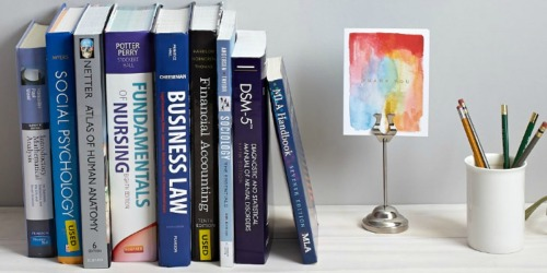 College Students! $10 Off Every $100 Spent on Textbooks at Barnes & Noble