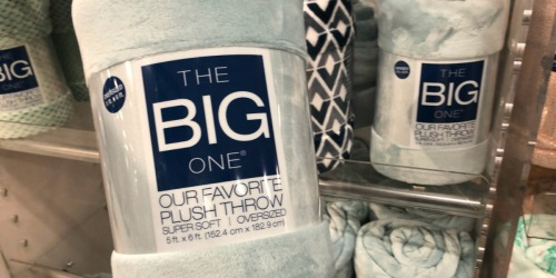 Kohl's The Big One Supersoft Plush Throw as Low as $6.66 Each Shipped (Regularly $40) & More