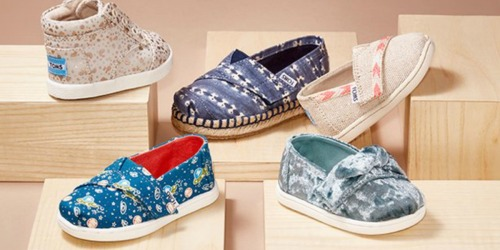 Up to 67% Off Toms Kids Shoes at Nordstrom Rack