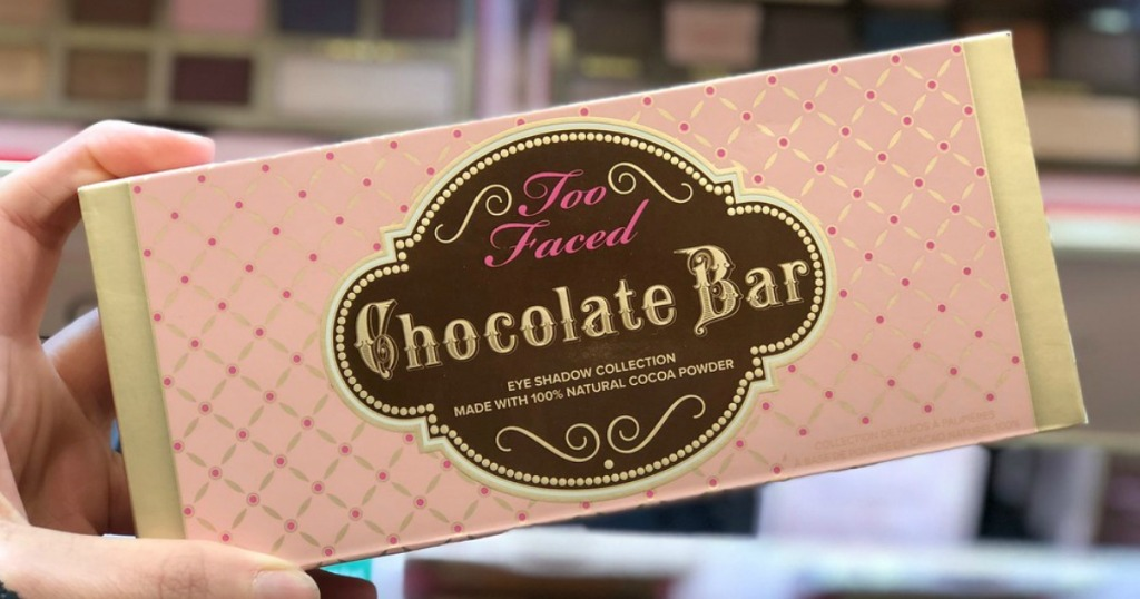 Too Faced Chocolate Bar in retail store