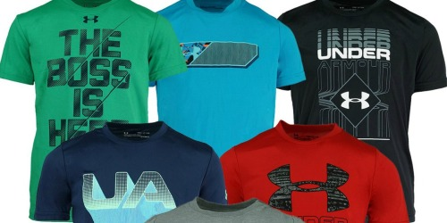 Under Armour Boys 3-Pack T-Shirts Only $25 Shipped – Just $8.33 Each