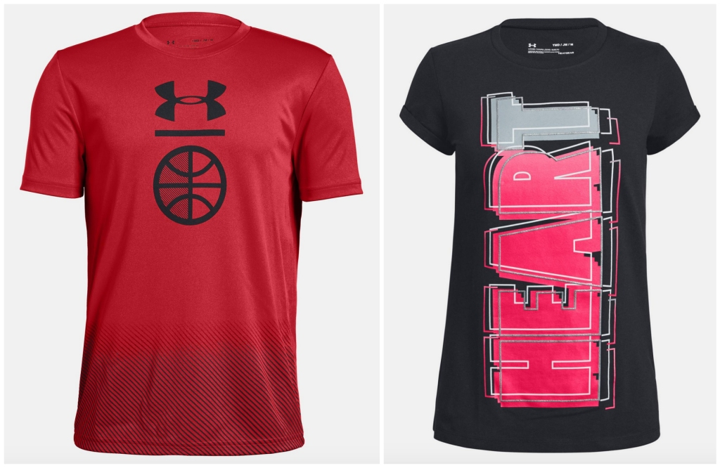 under armour tees