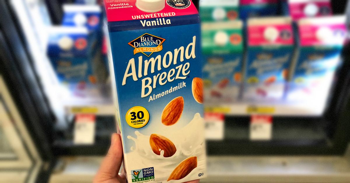 vanilla almond breeze milk recalled – Carton of almond breeze