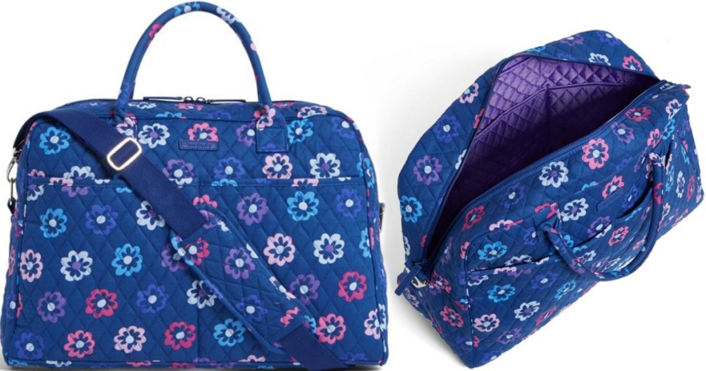 99909a4d1f Up to 80% Off Vera Bradley + Free Shipping   Weekender Travel Bag ...