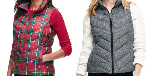 Lands' End Women's Down Vest Only $19.99 (Regularly $60) & More