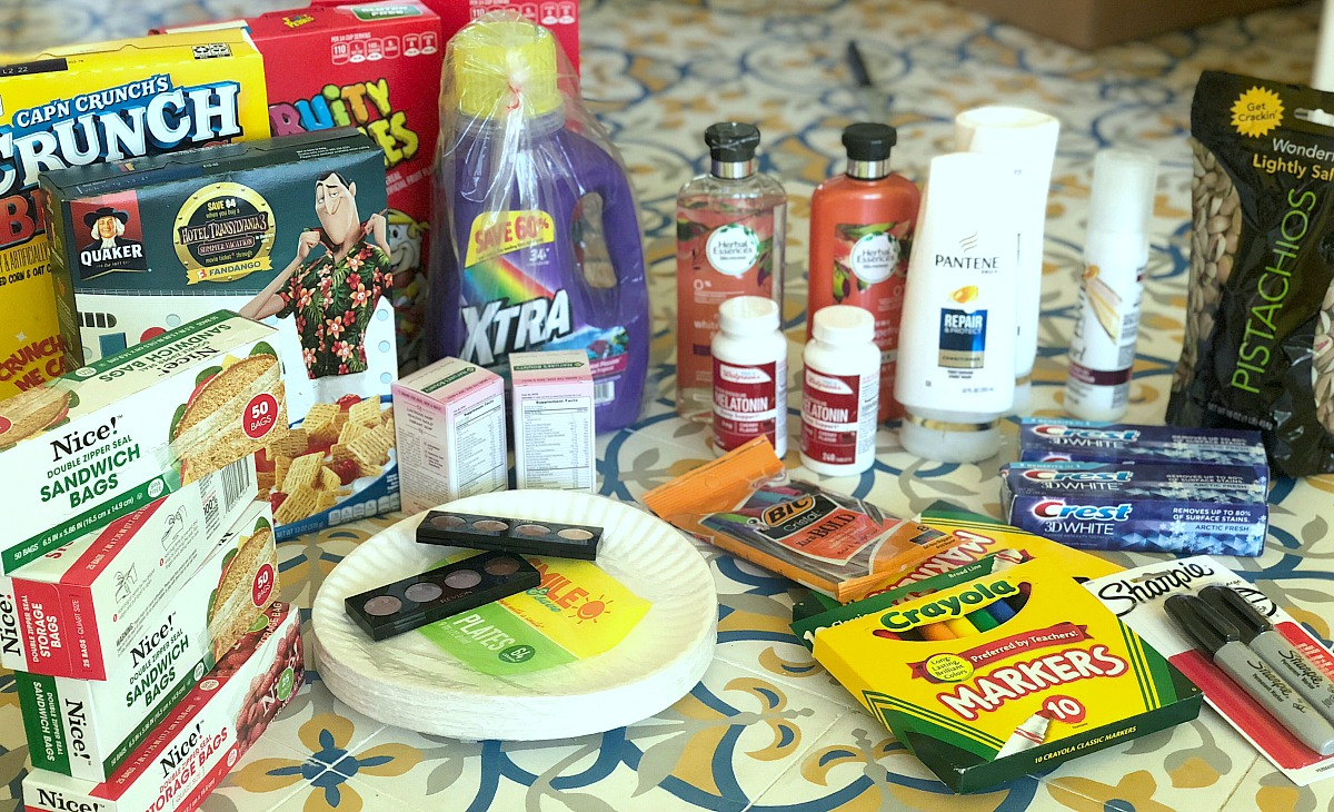 collin's deals and finds this week — walgreens order with personal care items, foods, cleaning products, and more