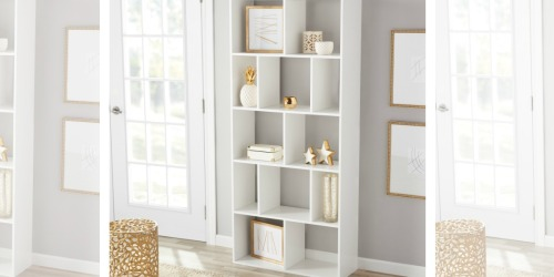 Mainstays Cube Bookcases as Low as $39 Shipped (Regularly $80)