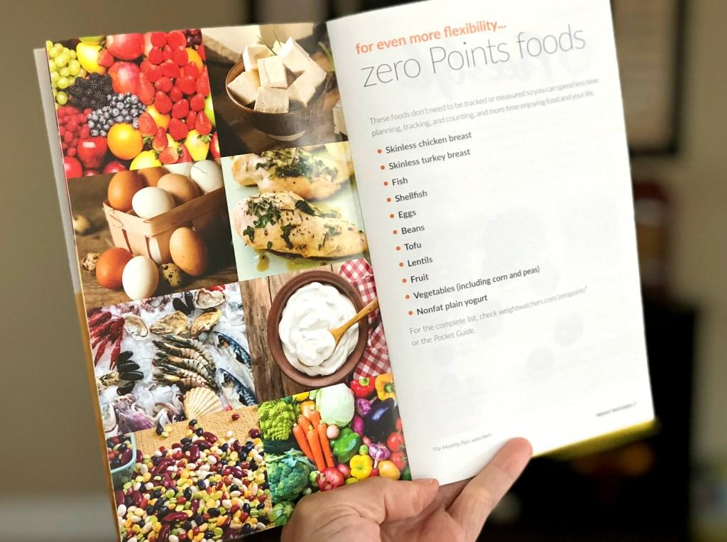 Weight Watchers Zero point foods