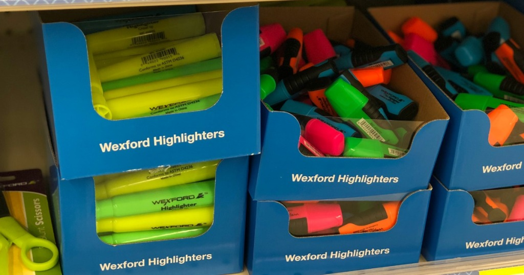 Wexford highlighters at Walgreens