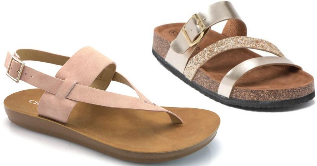 45979445a62 Cherish Cross Strap Lilo Sandals Just  9.79 (regularly  35)