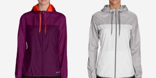 EXTRA 50% Off Eddie Bauer Clearance = Women's Momentum Jacket Only $17.50 (Regularly $50) + More