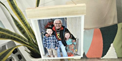 75% Off Wood Hanger Board Photo Prints + Free Walgreens Store Pickup