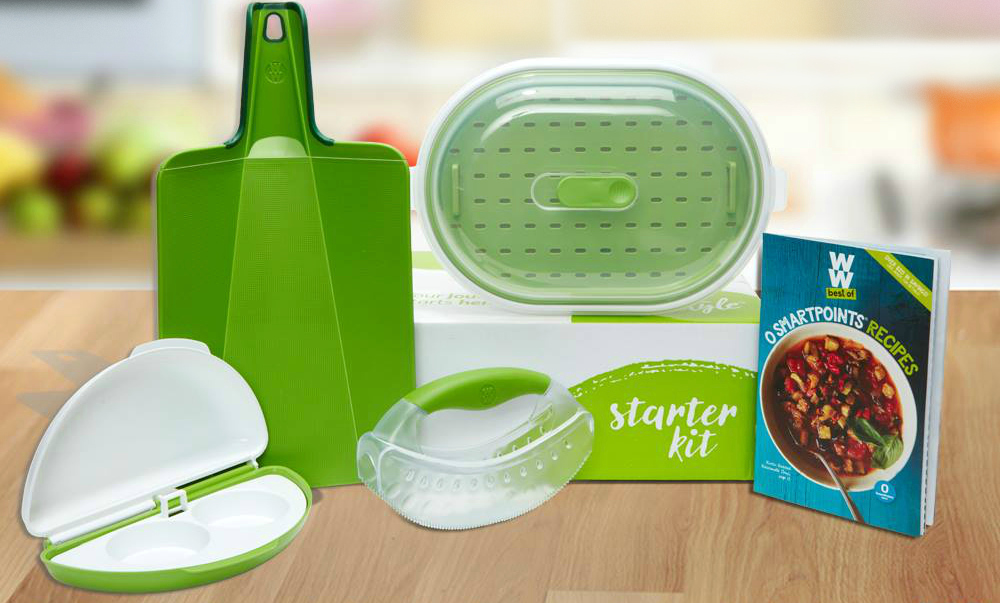 get a free weight watchers starter kit - sample items included in the kit