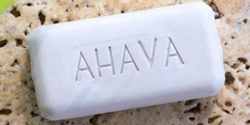 50% Off Ahava Bar Soap, Bath Salts, Hand Creams & More