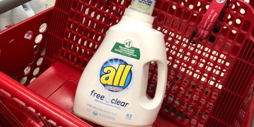 Over 30% Off All Laundry Detergent at Target
