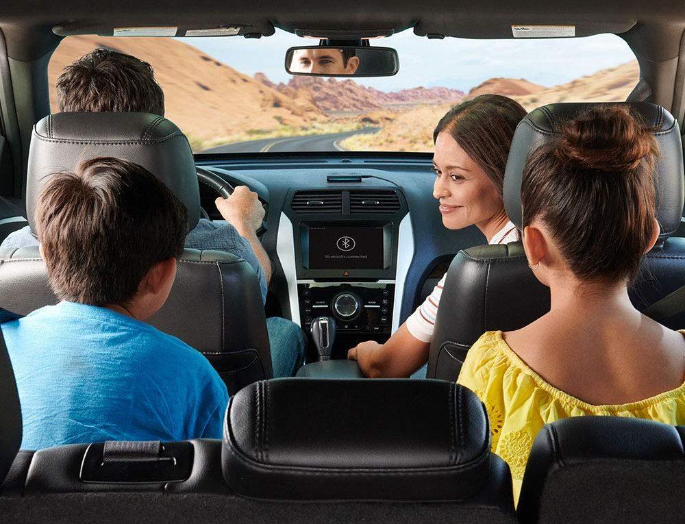 Amazon Alexa Echo Auto PreOrder - Amazon Echo Auto Plays songs in car