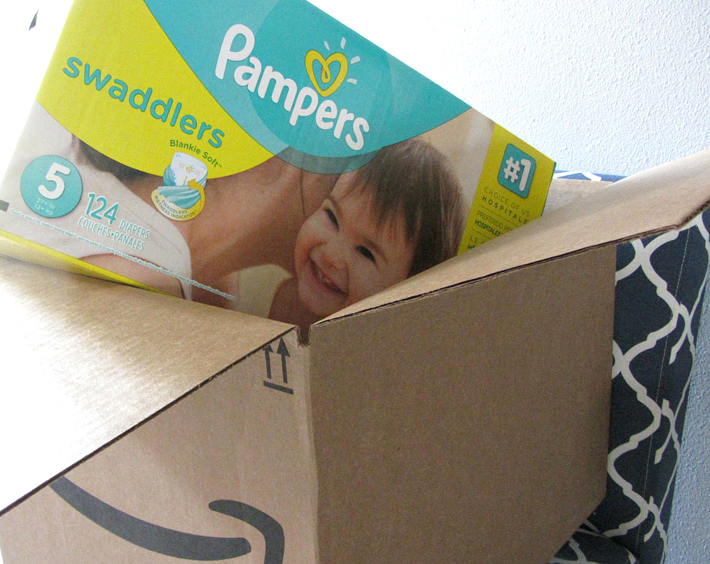 Hip2Save's guide to save money on disposable diapers — amazon-pampers-size-5-diapers