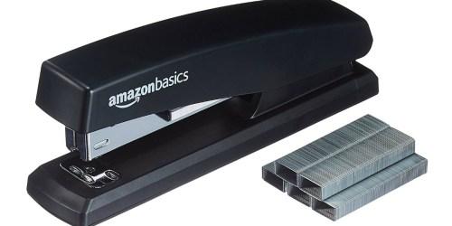 AmazonBasics Stapler with 1000 Staples Only $3.19 (Ships w/ $25 Order)