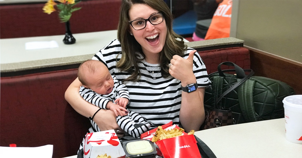 amber meal planning post — amber and holden at chick-fil-a