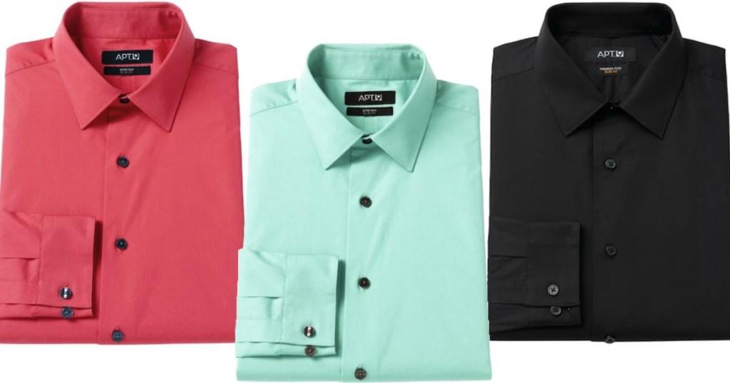 ab5eb9894a Men s Apt. 9 Premier Flex Extra-Slim Fit Flex Collar Dress Shirt  9 ( regularly  45) Use promo code CRISP30 (30% off) Use promo code FALL4MVC  (free shipping)