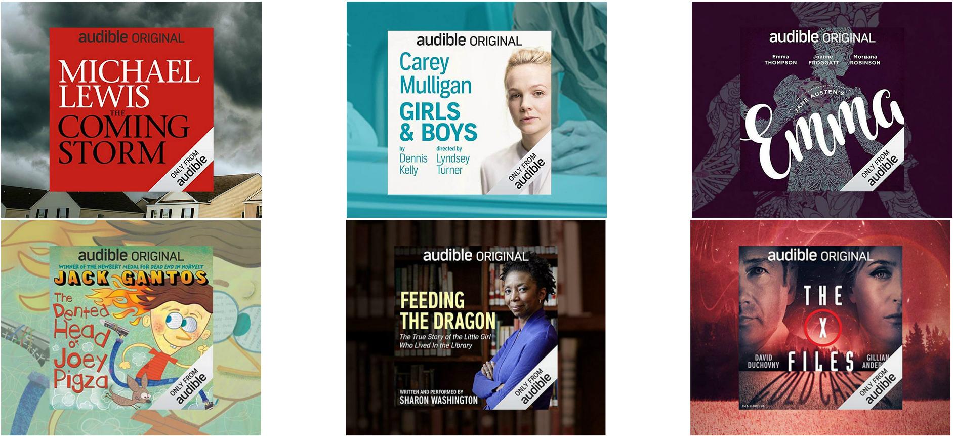 new Audible members get a free audiobooks deal – Audible Originals books for members