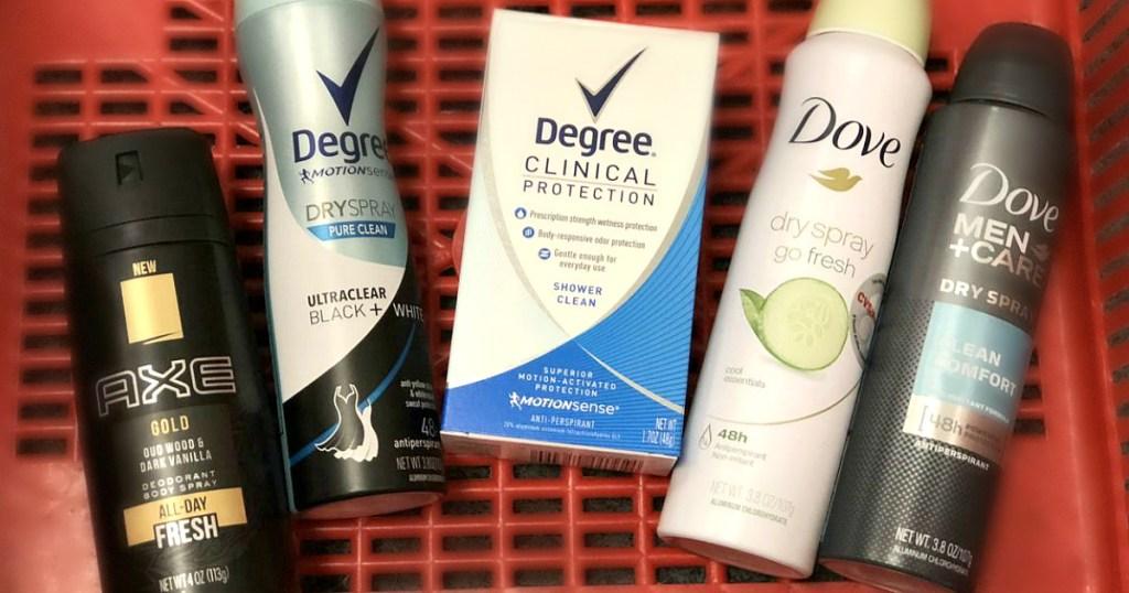 Axe Degree Dove at CVS