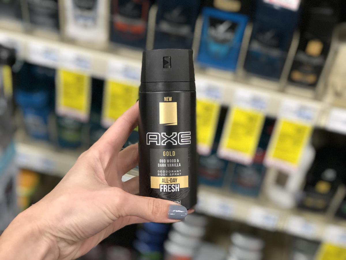 AXE Dry Spray at CVS