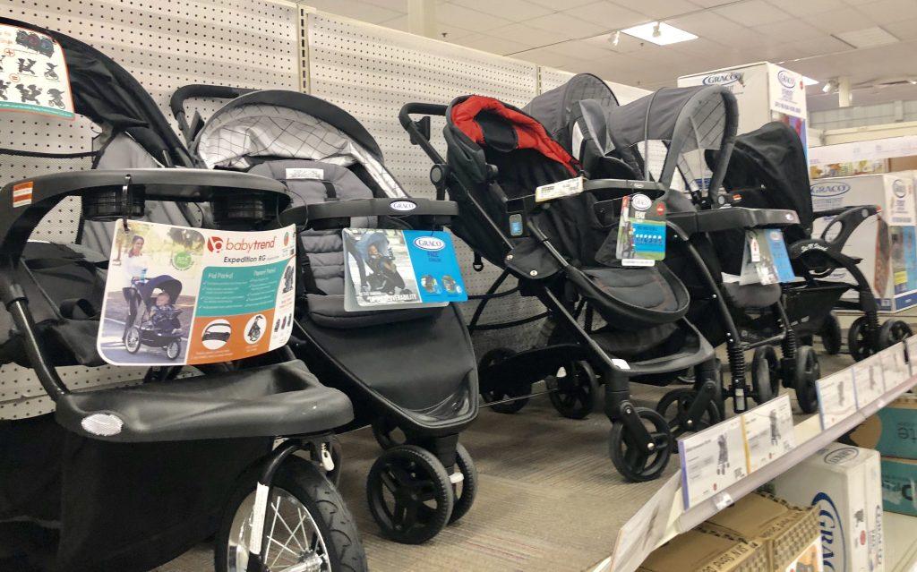 Baby stroller at Target